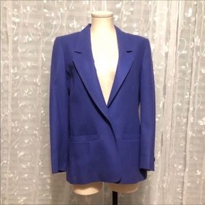 Miss Pendleton Vintage Wool Blazer Purple